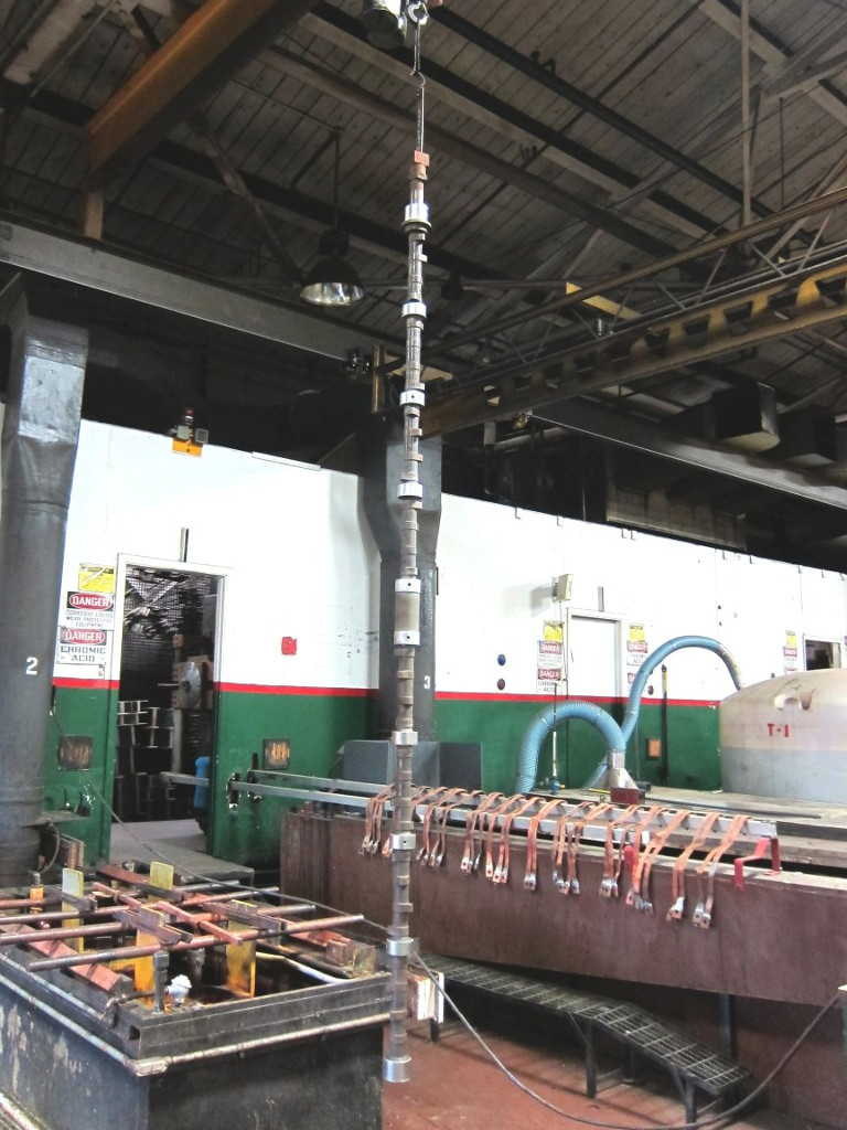 Hard Chrome Plating Power Engineering Powercrankshaft